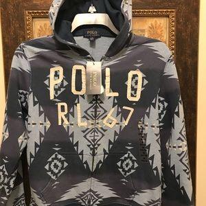 Polo Ralph Lauren boys zip front hoodie